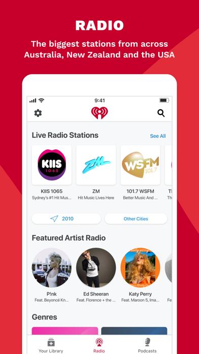 iHeartRadio - Radio & Podcasts screenshot three