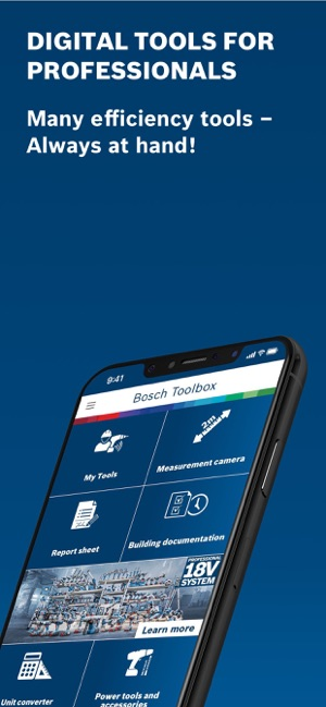 Bosch Toolbox on the App Store