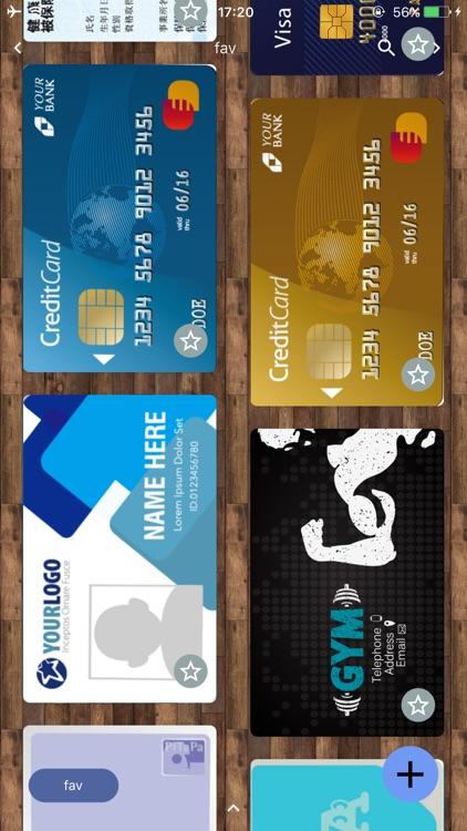 Cards2 : lighten your wallet screenshot-0