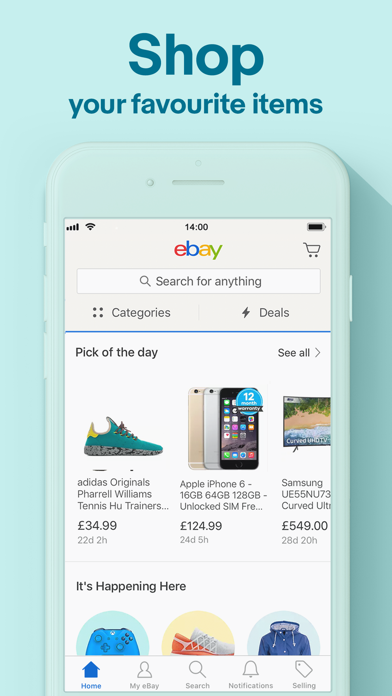 eBay: Buy and Sell on the go for pc