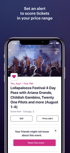StubHub: Event Tickets on the App Store