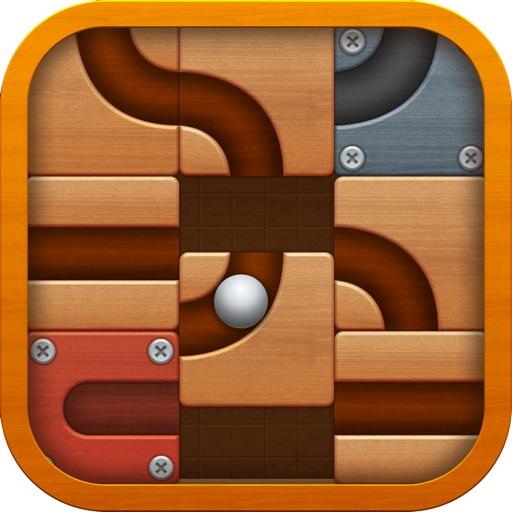 滚球拼图app icon图