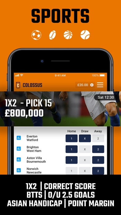 Colossus Bets screenshot two