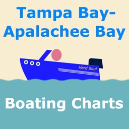 Tampa Bay to Apalachee Bay Map