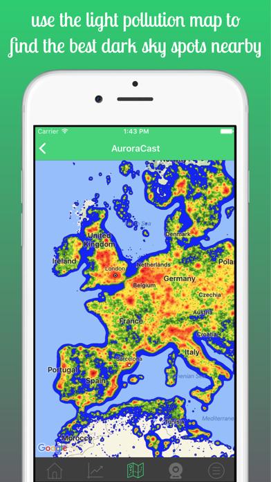 AuroraCast - Aurora Forecast Screenshot