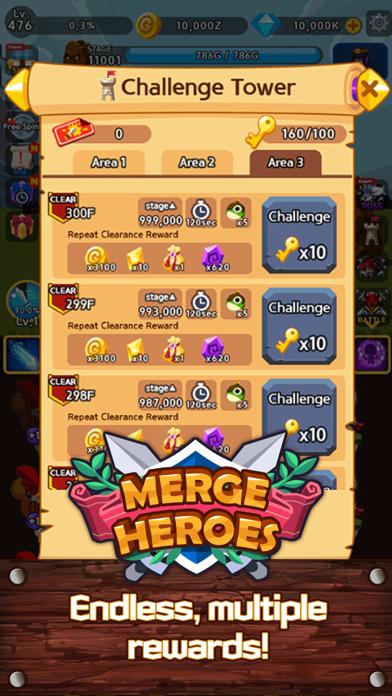 Merge Heroes Frontierのおすすめ画像6