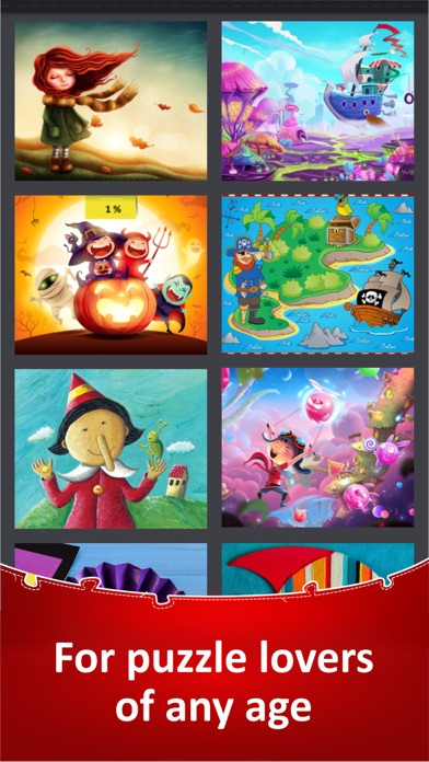 Jigsaw Puzzle Collection HD screenshot 10