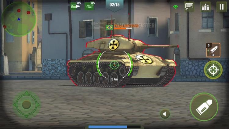 War Machines: 3D Tank Games screenshot-8