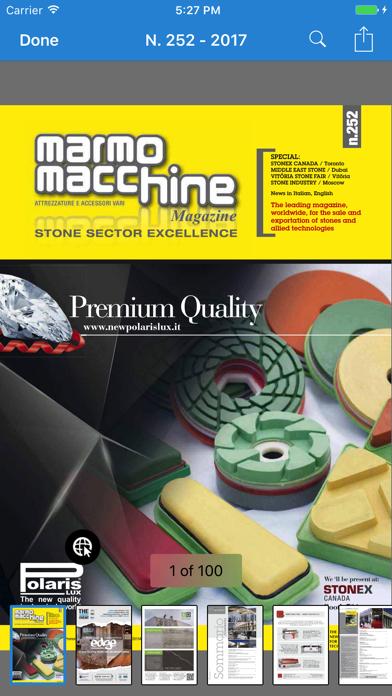 Marmomacchine MagazineScreenshot of 1