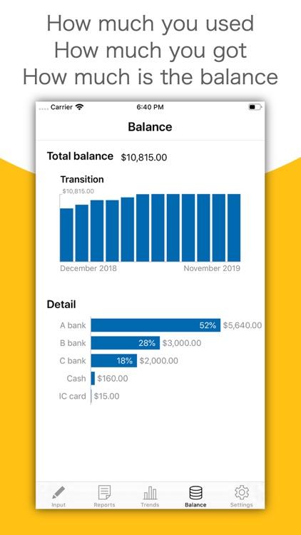 MoneyLog - Easy Bookkeeping screenshot-4