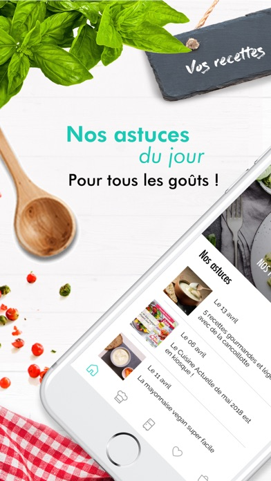 Cuisine Actuelle Idee Recette By Prisma Media Ios United