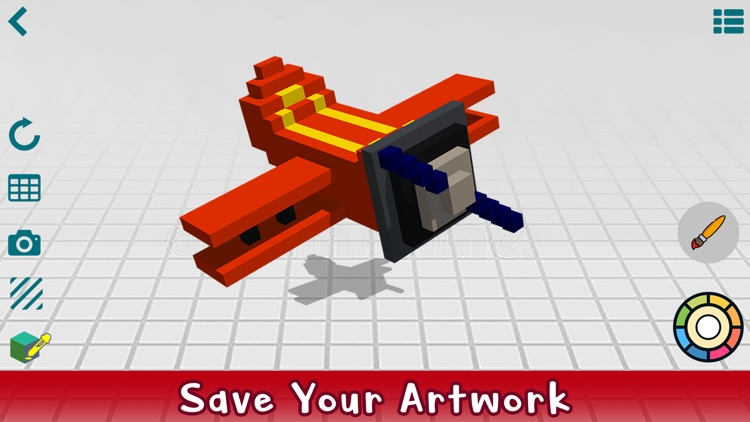 Poxel 3D - Voxel Editor, Maker screenshot-4