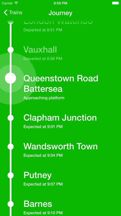 Track - Real time trains