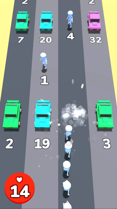 Men Vs Cars screenshot 2
