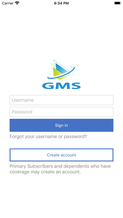 GMS TPA screenshot one