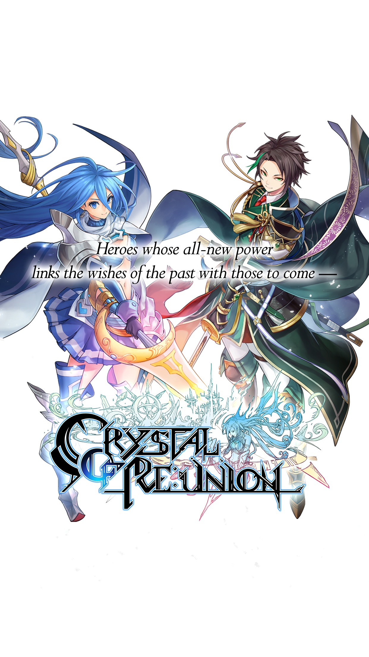 Crystal of Re:union Screenshot