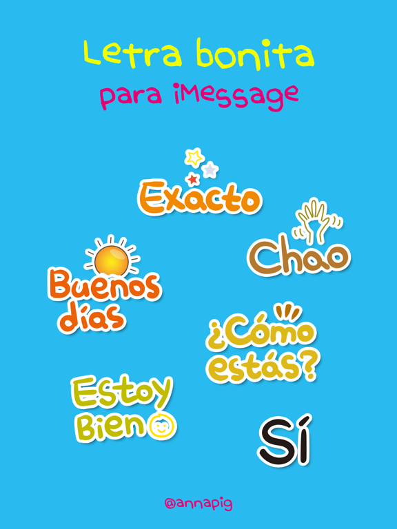 letra bonita para iMessage screenshot 4