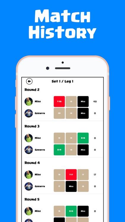 Dart Scorer Cricket and X01 screenshot-4