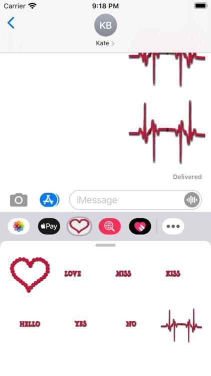Heartbeat Sticker screenshot-5