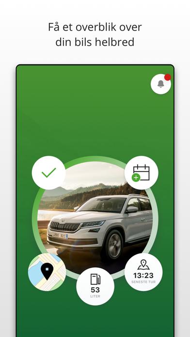 Screenshot for MinSKODA in Denmark App Store
