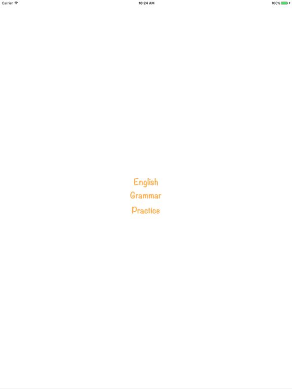 English Grammar Practice 2018 Screenshots