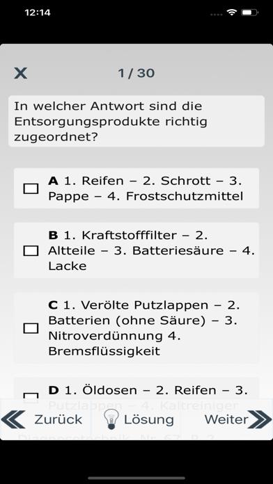 Pruefungscoach Kfz-2 screenshot #5
