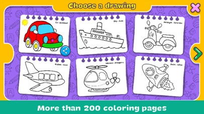 Coloring & Learn : Drawing screenshot 3