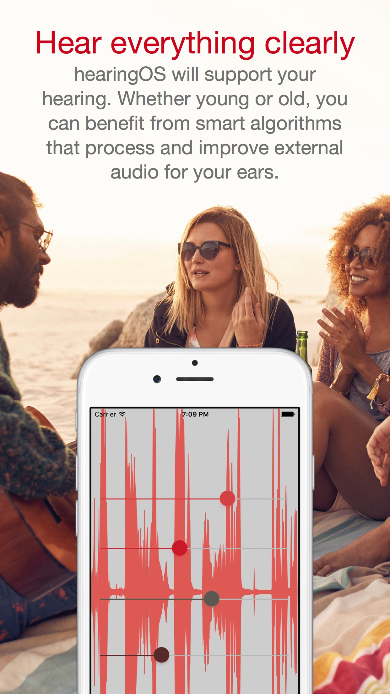 hearingOS - Hearing Aid App Screenshot