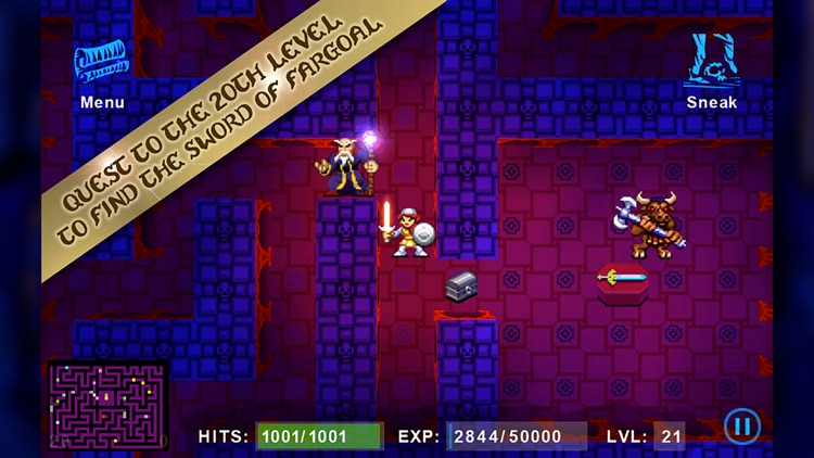 Sword of Fargoal (GameClub) screenshot-5