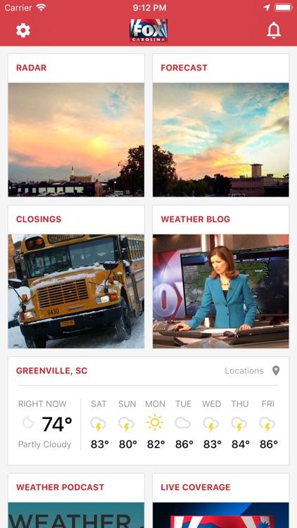 FOX Carolina Weather by WHNS Digital Media LLC