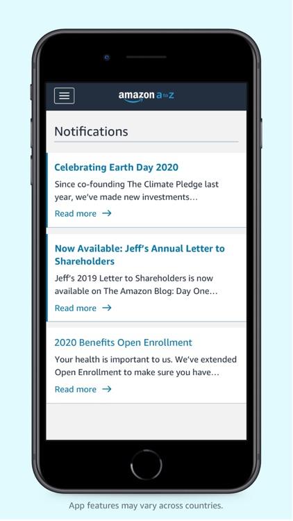 Amazon A to Z screenshot-3