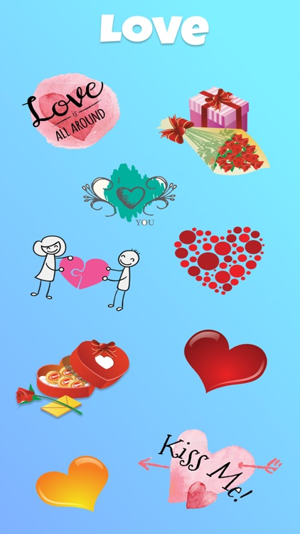 Top Text Stickers for iMessage screenshot-3