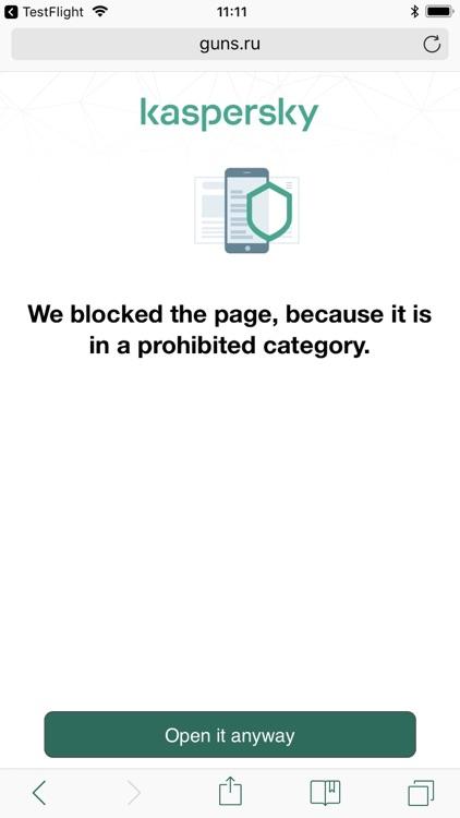 Kaspersky Safe Browser screenshot-3