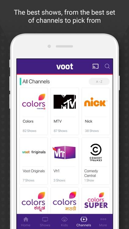 Voot by Viacom 18 Media Private Limited