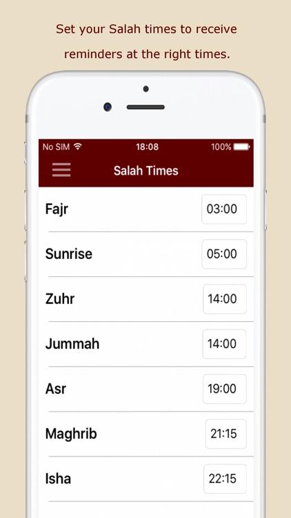 Build Your Deeds: Quran,Sunnah screenshot-5