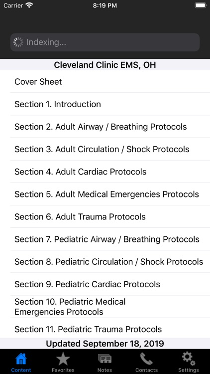 Cleveland Clinic EMS Protocols screenshot-1