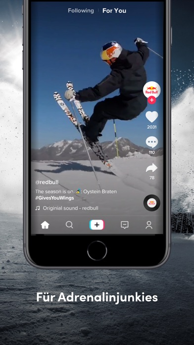 Screenshot for TikTok - Real Short Videos in Germany App Store