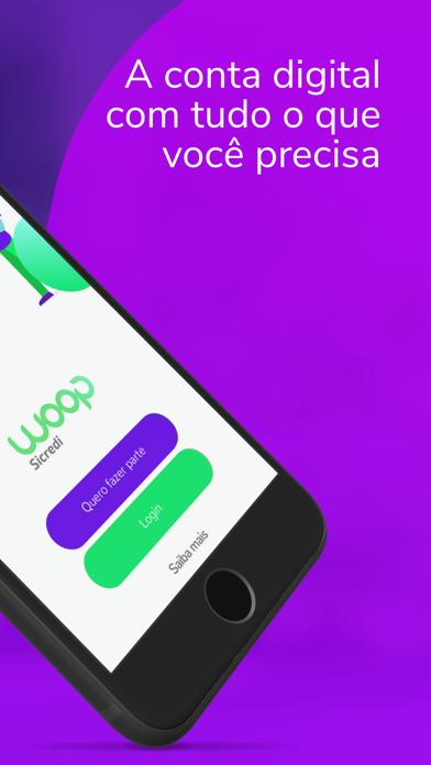 Woop Sicredi: conta digital screenshot two