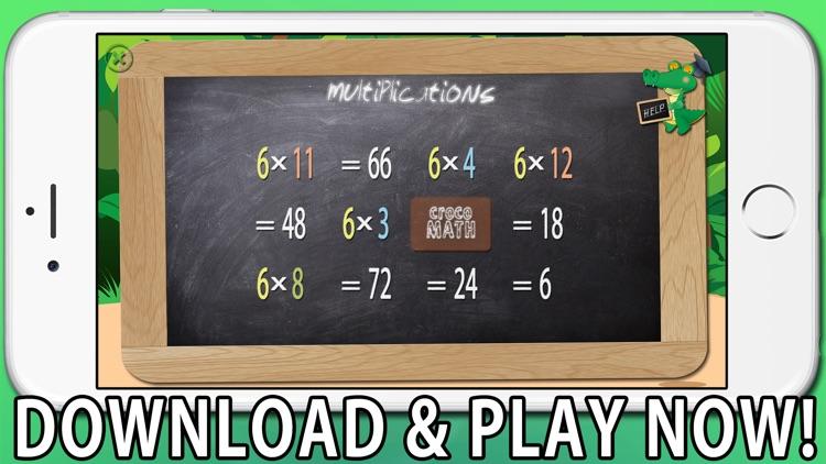 Croco Math Tables screenshot-4