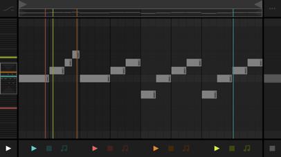 Screenshot #2 pour Fugue Machine : MIDI Sequencer