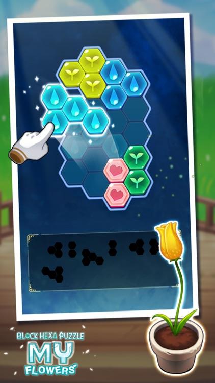 Block Hexa Puzzle : My Flower screenshot-6