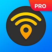 WiFi Map Pro - Passwords for free Wi-Fi. Good alternative for roaming icon