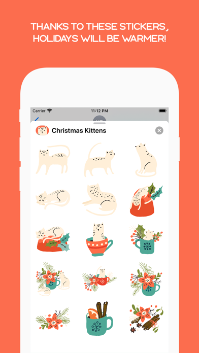 Cute Christmas Kittens Screenshot