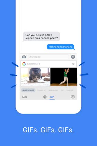 Screenshot of Gboard – the Google Keyboard