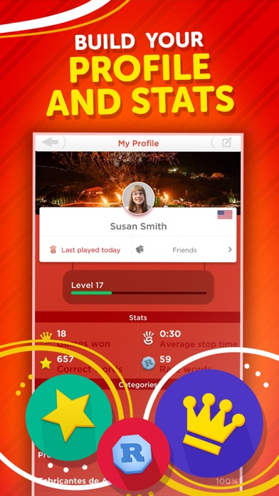 Stop - Categories Word Game free Coins and Lives hack