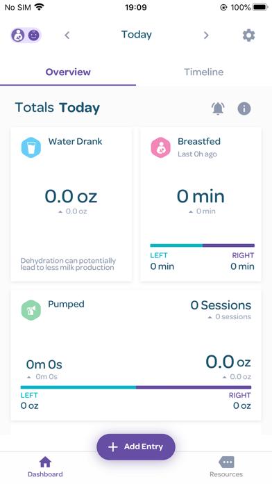 Lansinoh Baby App 2.0 screenshot 1