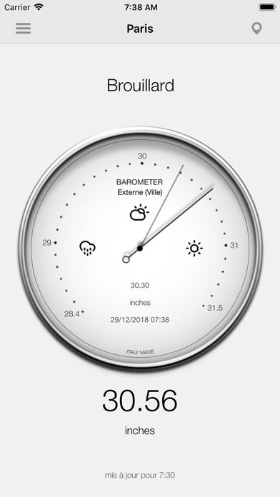 Screenshot #3 pour Baromètre - Pression