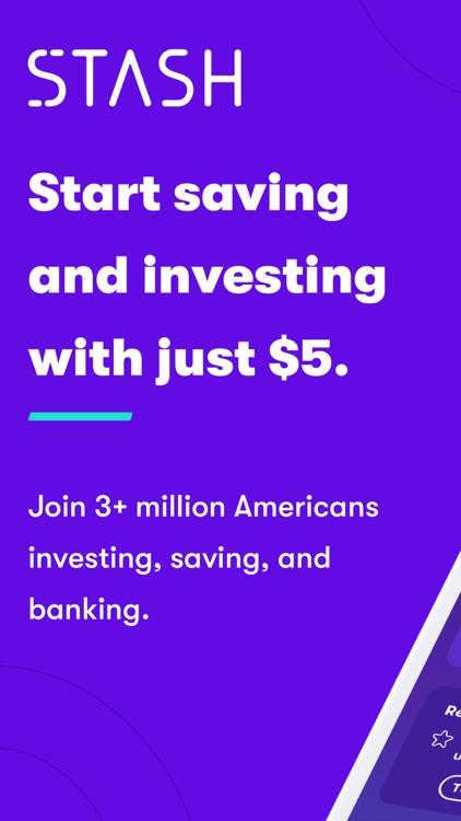 Stash: Invest. Bank. Save screenshot-0