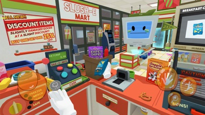 Slush'E'Mart - Job Simulator screenshot 2