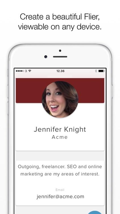 Flier - Business networking screenshot-0